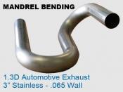 Mandrel Bending 1.3D Auto Exhaust
