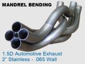Mandrel Bending 1.5D Auto Exhaust