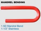 Mandrel Bending 1.5D 1.5 in Stainless