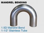 Mandrel Bending 1.5D 1.5 in Stainless Tube
