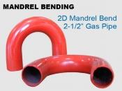 Mandrel Bending 2D 2.5 in Gas Pipe