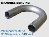 Mandrel Bending 2D 3 in Stainless