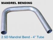 Mandrel Bending 2.5D 4 in Tube