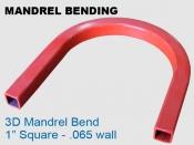Mandrel Bending 3D 1 in Square