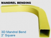 Mandrel Bending 3D 2 in Square