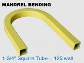 Mandrel Bending 1.75 in Square Tube