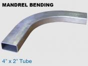 Mandrel Bending 4x2 in Tube