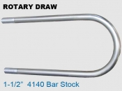 Rotary Draw 1.5 in 4140 Bar Stock
