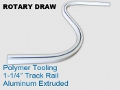Rotary Draw 1.25 in Track Rail Polymer Tooling