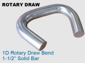 Rotary Draw 1D - 1.5 in Solid Bar