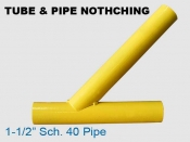 Tube & Pipe Notching Samples