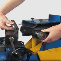 Notcher Grinding Belts and Roller Selection