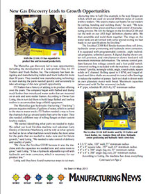 May 2013 Manufacturing News Article